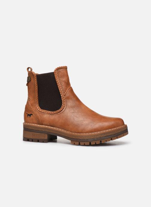 Bottines et boots Mustang shoes Nol Marron vue derrière