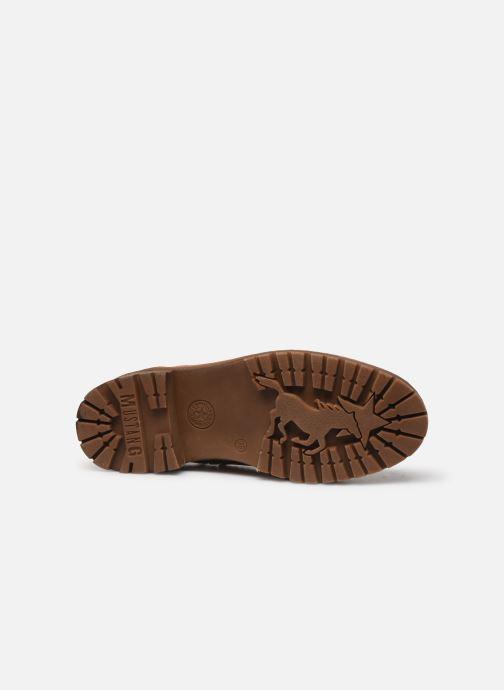 Bottines et boots Mustang shoes Nol Marron vue haut
