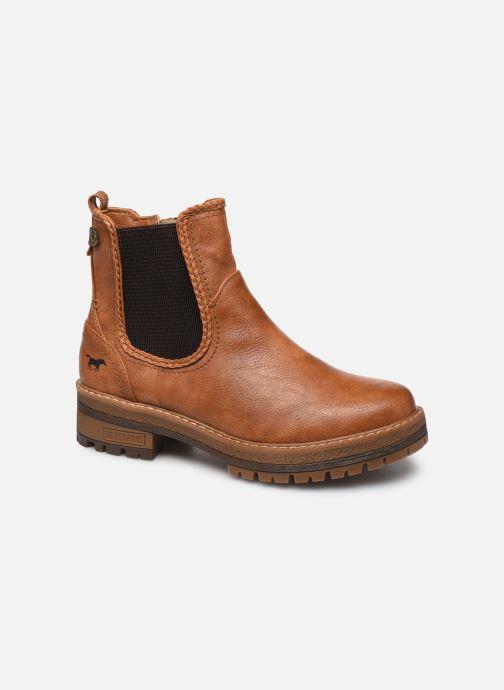 Bottines et boots Mustang shoes Nol Marron vue détail/paire