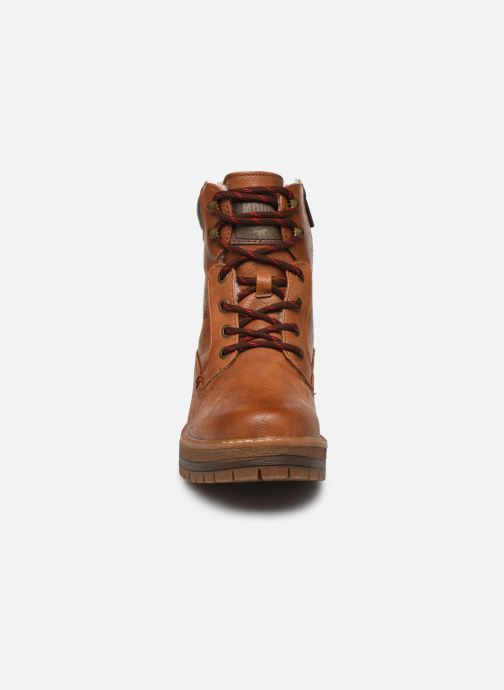 Ankle boots Mustang shoes Aymar Brown model view