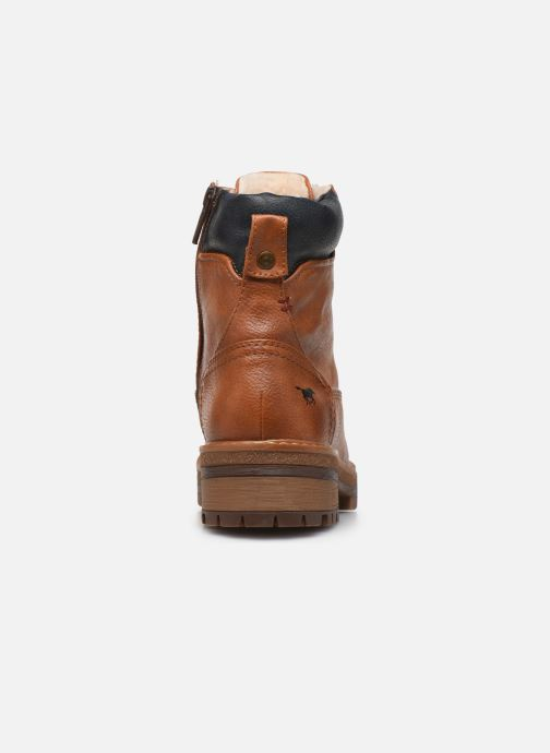 Ankle boots Mustang shoes Aymar Brown view from the right