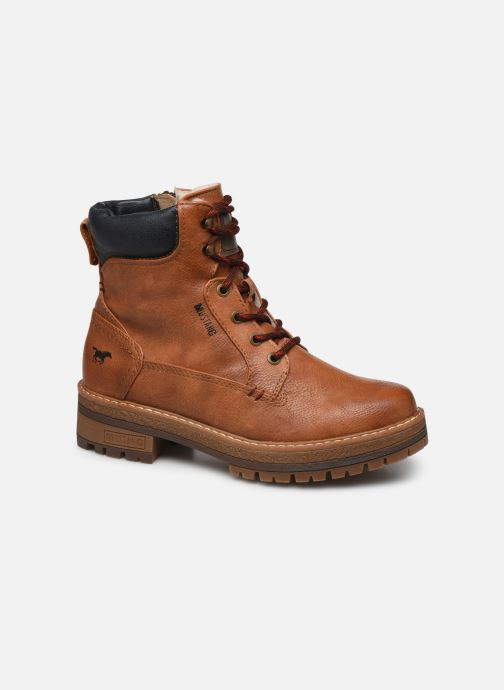 Ankle boots Mustang shoes Aymar Brown detailed view/ Pair view