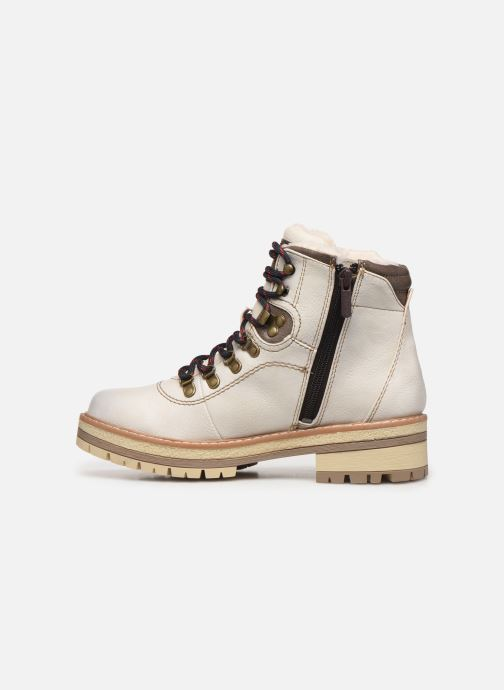 Ankle boots Mustang shoes Ahmza Beige front view