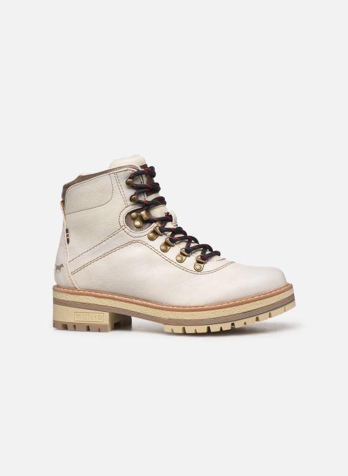 Bottines et boots Mustang shoes Ahmza Beige vue derrière