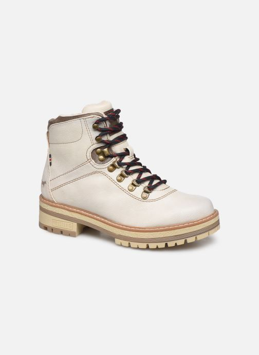 Bottines et boots Mustang shoes Ahmza Beige vue détail/paire