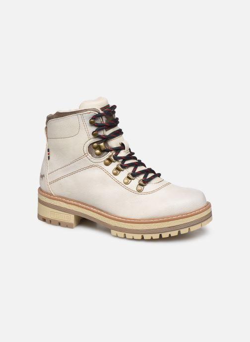 Bottines et boots Mustang shoes Ahmza Beige vue détail/paire