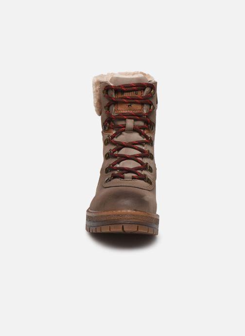 Stiefeletten & Boots Mustang shoes Célya grau schuhe getragen