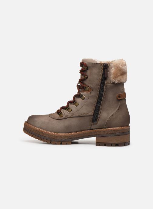 Bottines et boots Mustang shoes Célya Gris vue face
