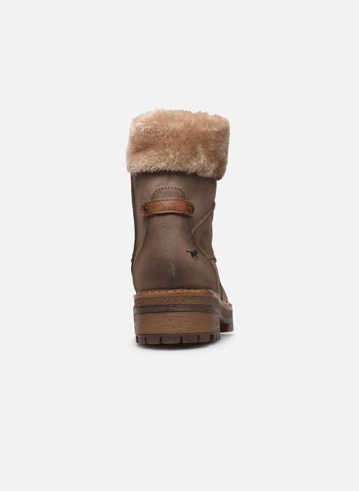 Bottines et boots Mustang shoes Célya Gris vue droite