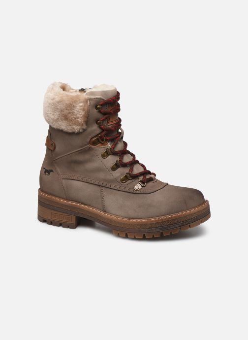 Bottines et boots Mustang shoes Célya Gris vue détail/paire