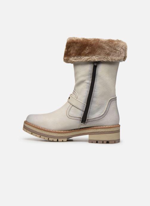 Stiefeletten & Boots Mustang shoes Charlise grau ansicht von vorne