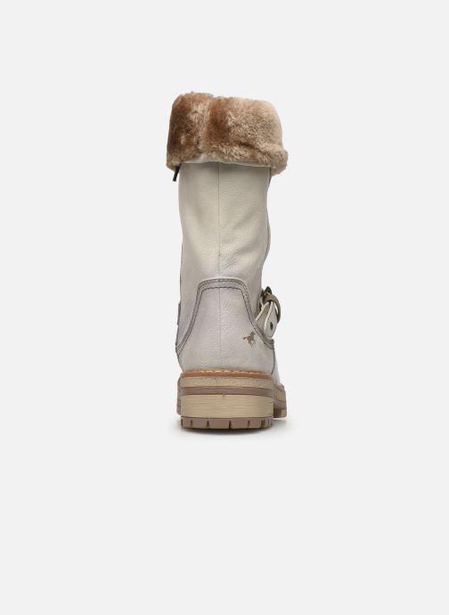 Stiefeletten & Boots Mustang shoes Charlise grau ansicht von rechts