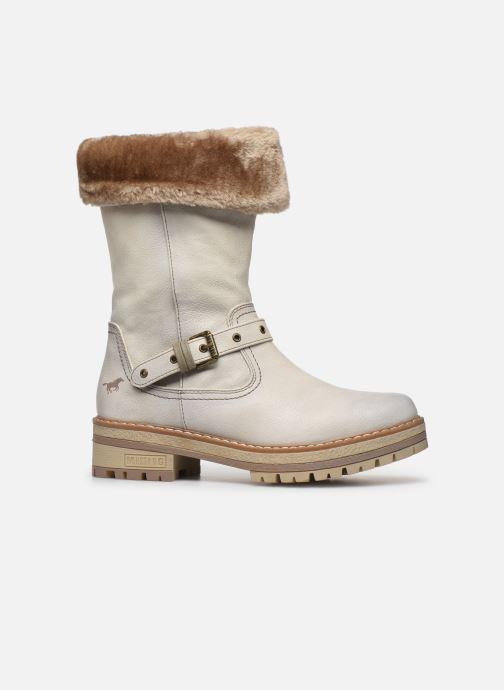 Stiefeletten & Boots Mustang shoes Charlise grau ansicht von hinten