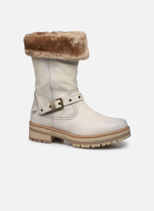 Bottines et boots Mustang shoes Charlise Gris vue détail/paire