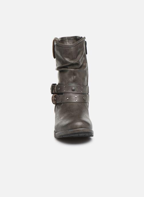 Bottines et boots Mustang shoes Eliess Marron vue portées chaussures