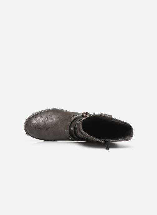 Bottines et boots Mustang shoes Eliess Marron vue gauche