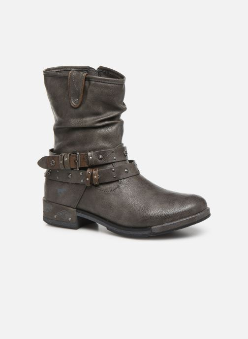 Boots en enkellaarsjes Mustang shoes Eliess Bruin detail