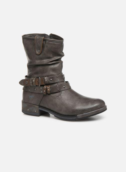 Bottines et boots Mustang shoes Eliess Marron vue détail/paire