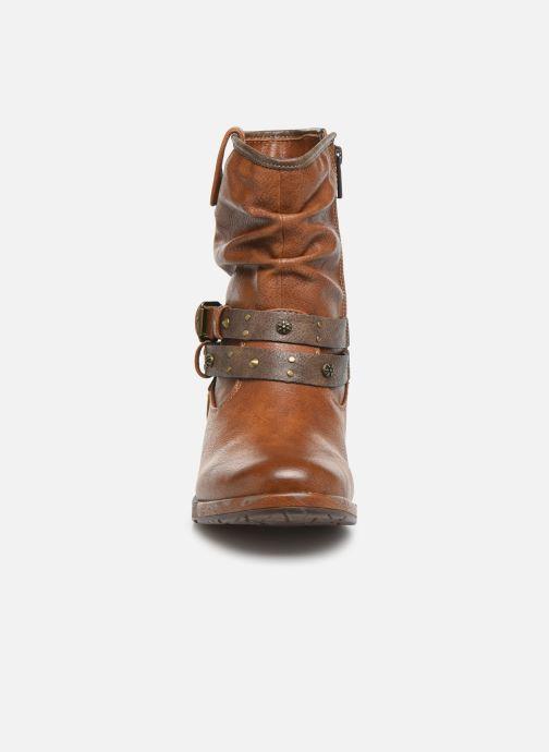 Boots en enkellaarsjes Mustang shoes Eliess Bruin model