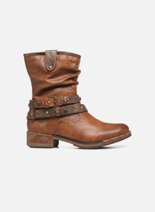 Boots en enkellaarsjes Mustang shoes Eliess Bruin achterkant