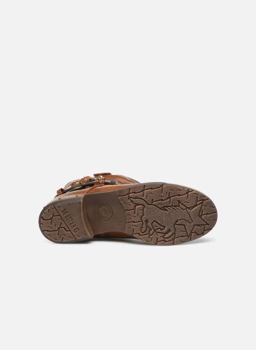 Boots en enkellaarsjes Mustang shoes Eliess Bruin boven