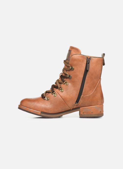 Boots en enkellaarsjes Mustang shoes Gurwann Bruin voorkant