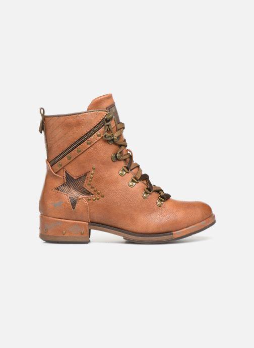 Boots en enkellaarsjes Mustang shoes Gurwann Bruin achterkant