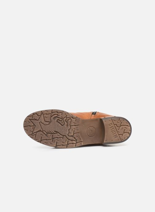 Boots en enkellaarsjes Mustang shoes Gurwann Bruin boven
