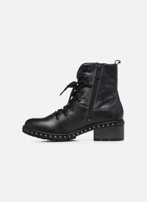 Bottines et boots Mustang shoes Haïcé Noir vue face