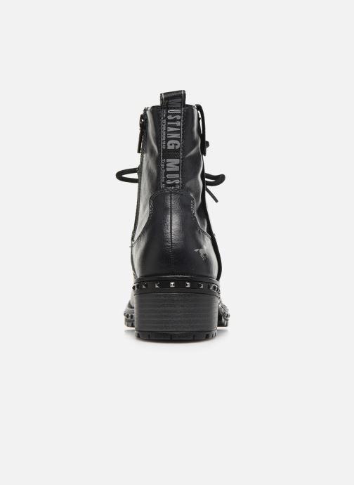 Bottines et boots Mustang shoes Haïcé Noir vue droite