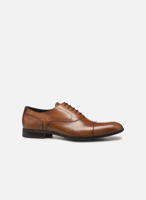 Lace-up shoes Sturlini OVIEDO 6451 Brown back view