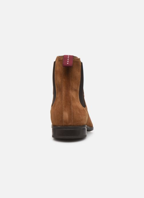 Ankle boots Sturlini CROSTA 6454 Brown view from the right