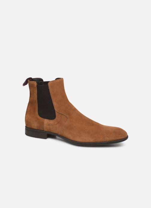 Ankle boots Sturlini CROSTA 6454 Brown detailed view/ Pair view