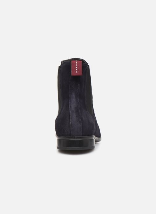 Ankle boots Sturlini CROSTA 6454 Blue view from the right