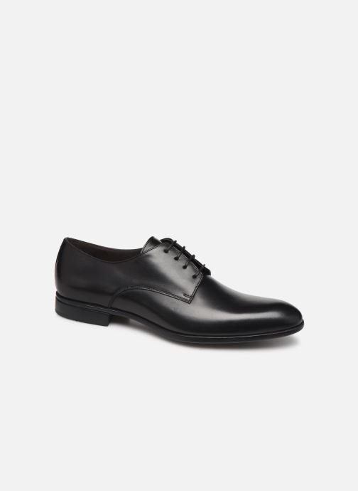 Lace-up shoes Sturlini OVIEDO 6450 Black detailed view/ Pair view