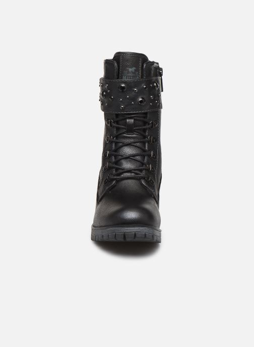 Bottines et boots Mustang shoes Jubou Noir vue portées chaussures