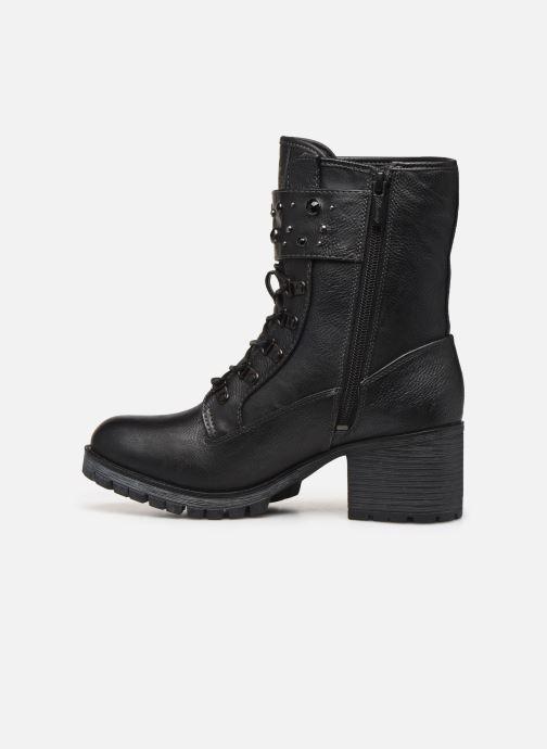 Bottines et boots Mustang shoes Jubou Noir vue face