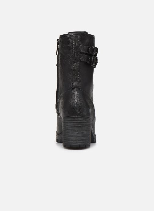Bottines et boots Mustang shoes Jubou Noir vue droite