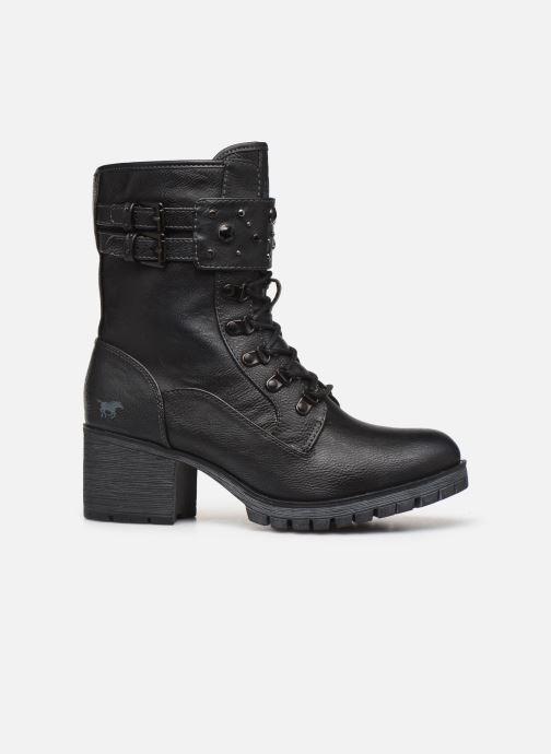 Bottines et boots Mustang shoes Jubou Noir vue derrière