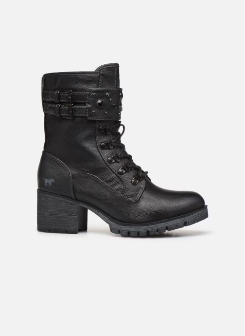 Boots en enkellaarsjes Mustang shoes Jubou Zwart achterkant