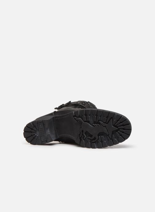 Bottines et boots Mustang shoes Jubou Noir vue haut