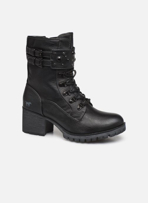 Bottines et boots Mustang shoes Jubou Noir vue détail/paire