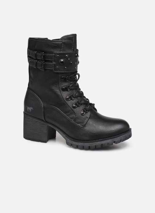 Boots en enkellaarsjes Mustang shoes Jubou Zwart detail