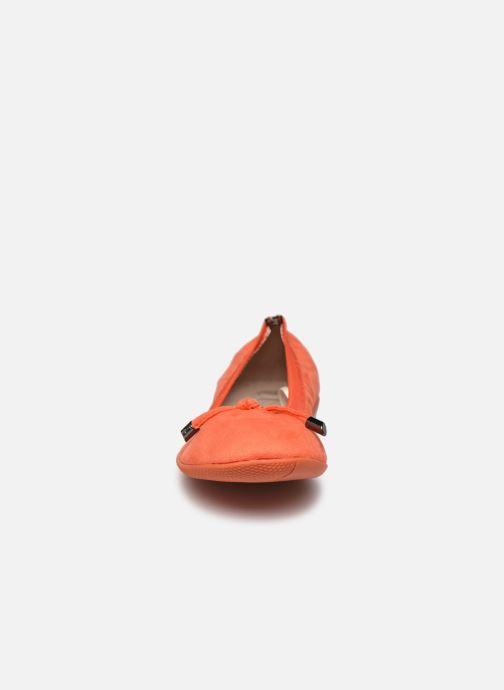 Ballerines LPB -LES PETITES BOMBES AVA Orange vue portées chaussures