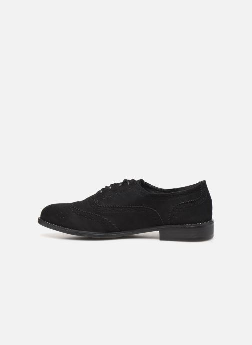 Lace-up shoes LPB /LES PETITES BOMBES PATRICK Black front view