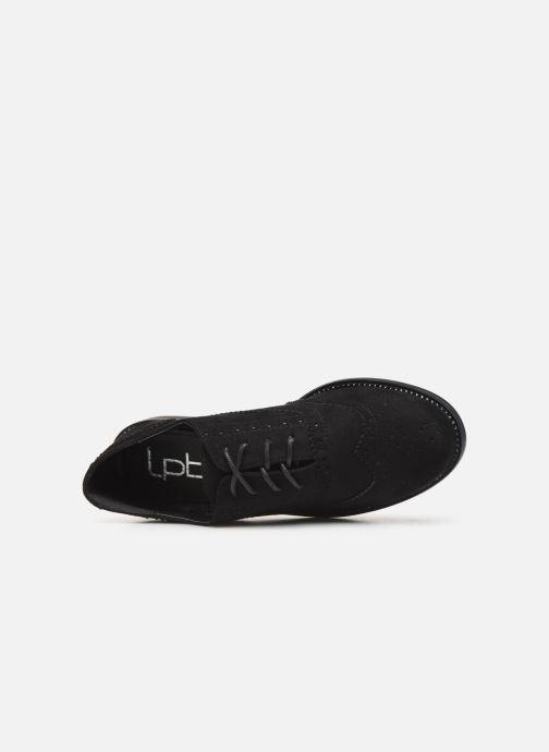 Lace-up shoes LPB /LES PETITES BOMBES PATRICK Black view from the left