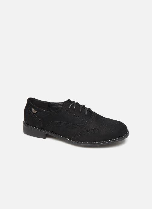 Lace-up shoes LPB /LES PETITES BOMBES PATRICK Black detailed view/ Pair view