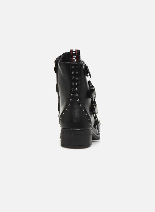 Boots en enkellaarsjes LPB /LES PETITES BOMBES QUADRI Zwart rechts