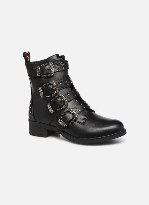 Boots en enkellaarsjes LPB /LES PETITES BOMBES QUADRI Zwart detail