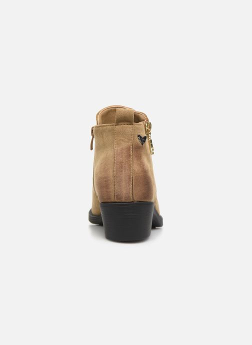 Ankle boots LPB -LES PETITES BOMBES VICTORIA Beige view from the right